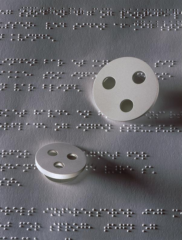 hjælpemidler til synshandicappede